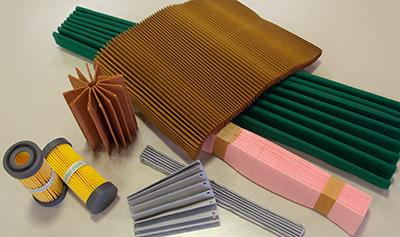 プリーツフィルター機能性素材製品